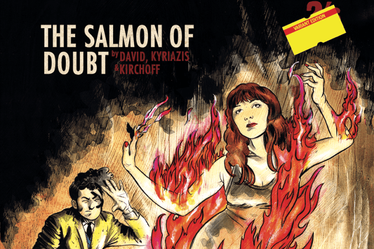 Salmon of Doubt Dirk Gently issue 3 IDW