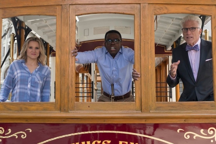 The Good Place The Trolley Problem