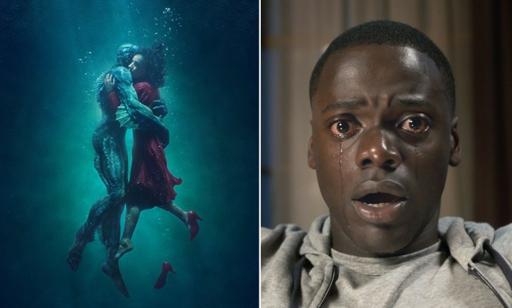 Oscars 2018 Best Picture nominees The Shape of Water Get Out Jordan Peele Sally Hawkins Guillermo del Toro Daniel Kaluuya
