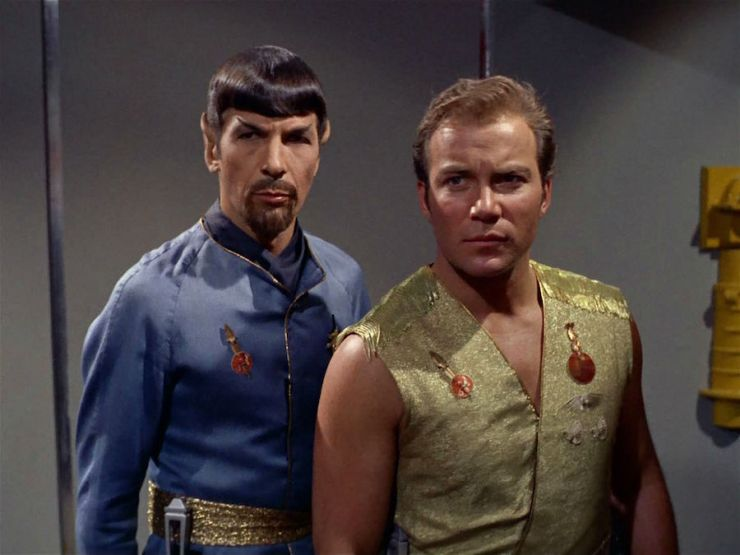 Spock and Kirk Mirror Universe