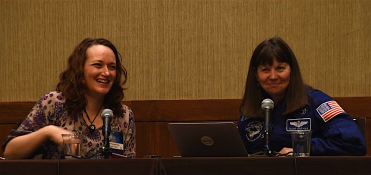 Mary Robinette Kowal Cady Coleman writing advice Boskone