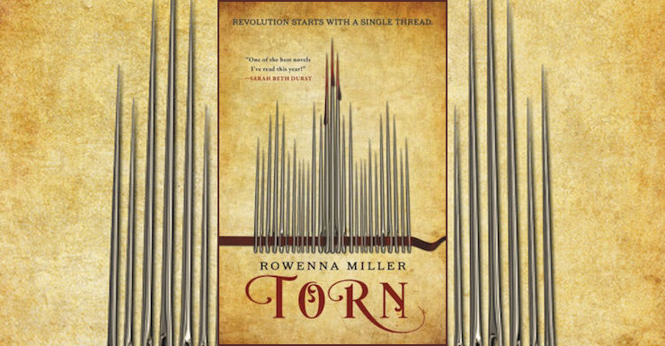 Blog Post Featured Image - Flirting with Revolution: Torn by Rowenna Miller