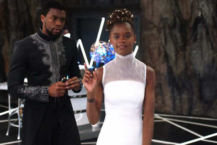 Black Panther Shuri lab