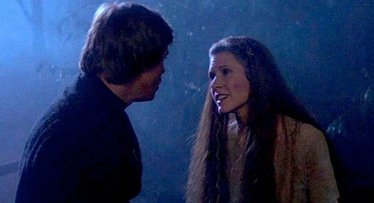Luke and Leia, Return of the Jedi