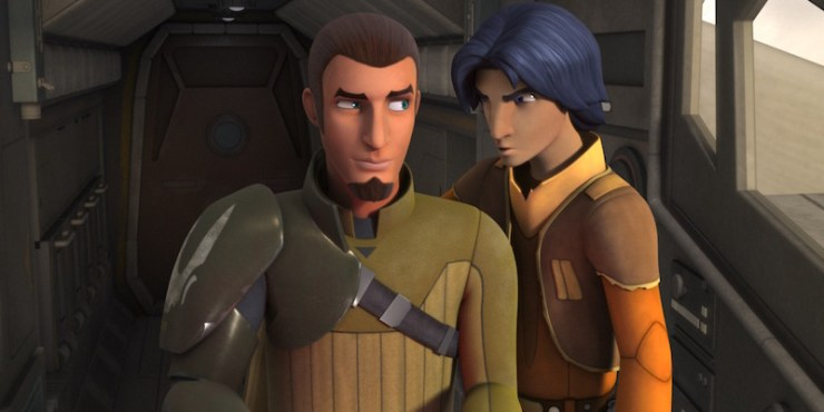 Star Wars Rebels, Kanan and Ezra