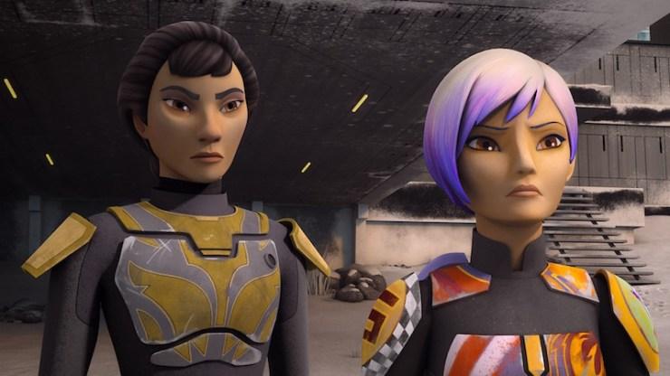 Star Wars Rebels, Sabine