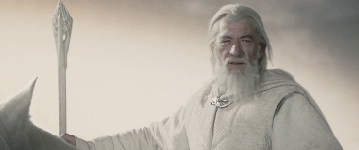 Gandalf the White, Lord of the Rings