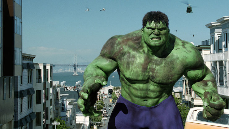 """You're an even more screwed-up mess than I thought"""" — Ang Lee's Hulk"""