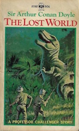 dinosaurs in the amazon the lost world by arthur conan doyle tor com