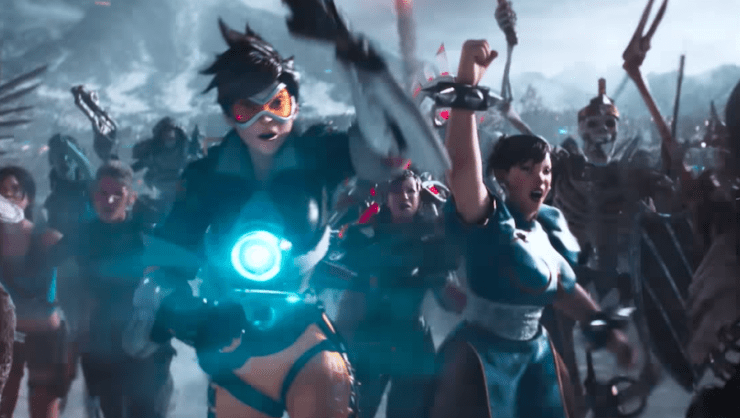 Chun Li and Tracer Ready Player One