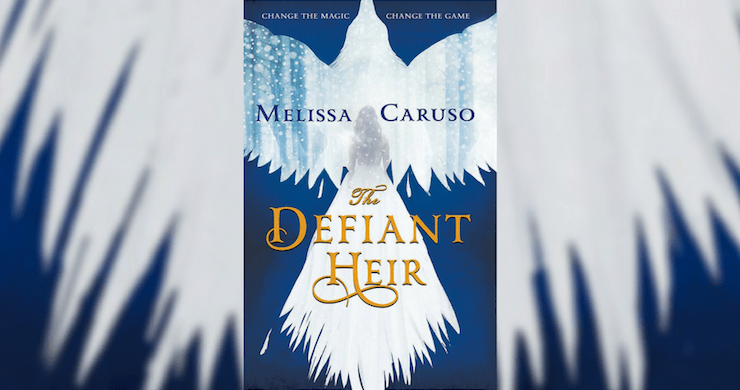 Blog Post Featured Image - Fantasy with Ballgowns and Explosions: The Defiant Heir by Melissa Caruso