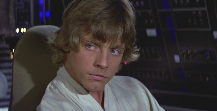 Luke Skywalker, A New Hope
