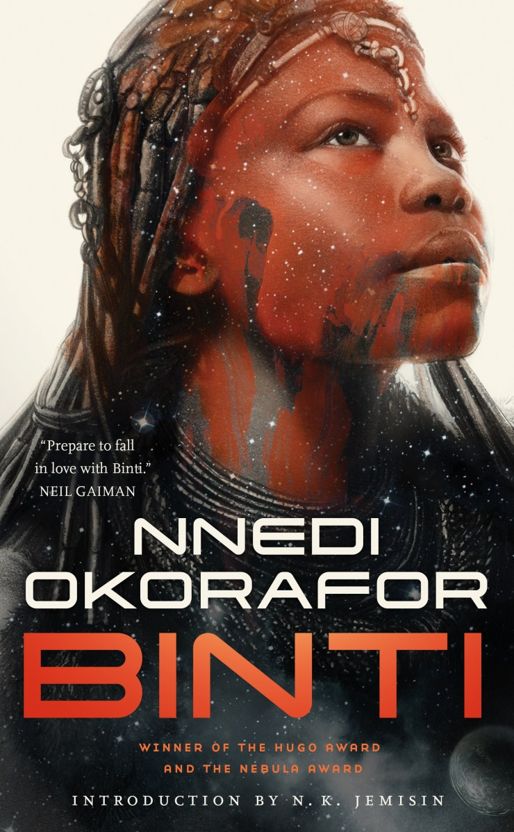 Binti trilogy hardcover edition Nnedi Okorafor cover reveal Tor.com Publishing