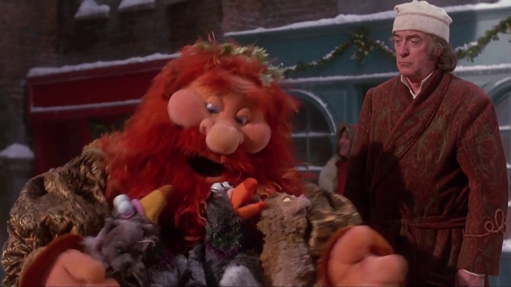 Muppet Christmas Carol Ghost Of Christmas Present.Five Best Ghosts To Invite To A Barbecue Tor Com