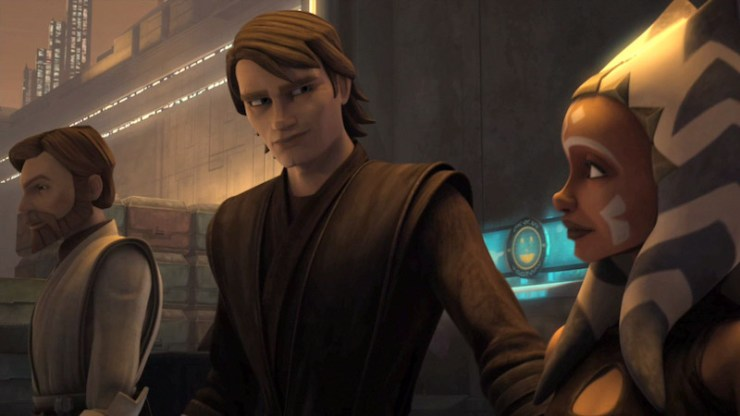 Ahsoka Tano, Star Wars, Clone Wars, Anakin, Obi-Wan