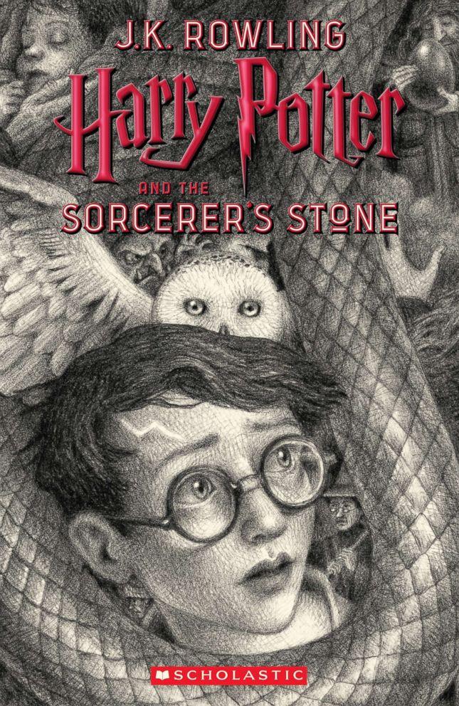 Harry Potter series, 20th anniversary, cover art, Brian Selznick