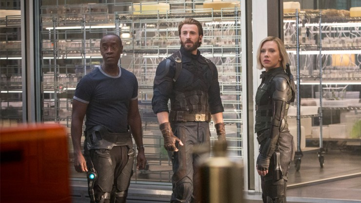 Avengers: Infinity War spoiler review Natasha Rhodey