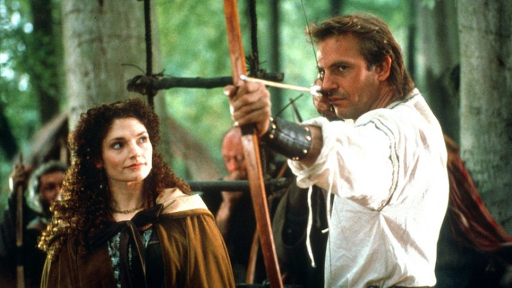 Robin Hood: Prince of the Thieves, Kevin Costner