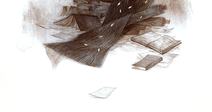 Rovina Cai trail of books