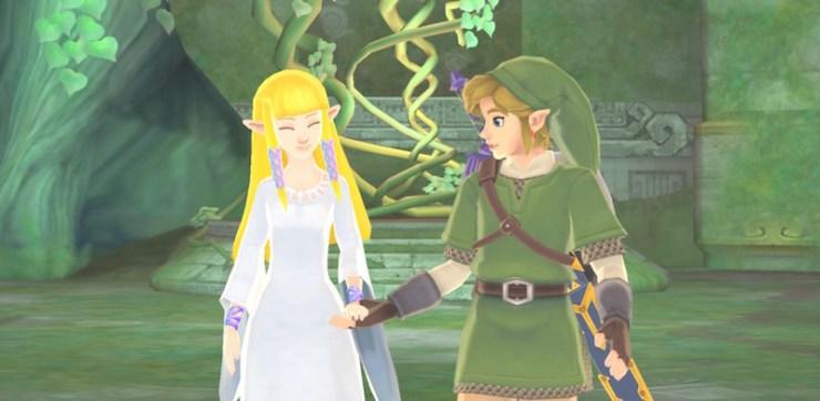Legend of Zelda: Skyward Sword Demise curse blood of the goddess spirit of the hero Link Zelda