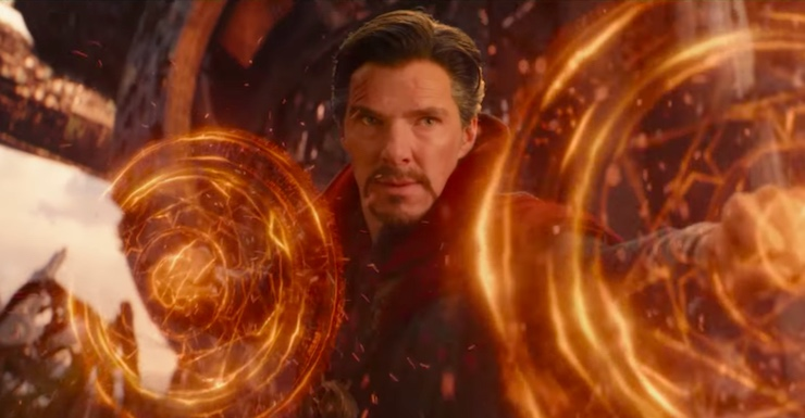 Doctor Strange Spent a Year Fighting the Infinity War and No One