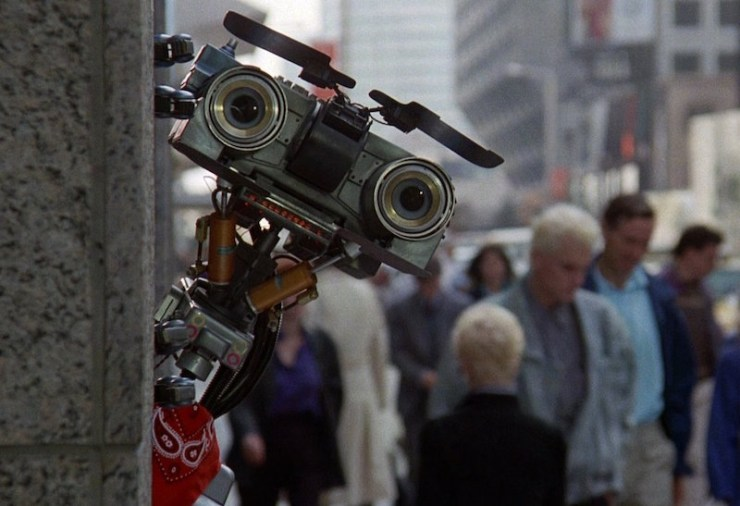 Johnny-Five in Short Circuit