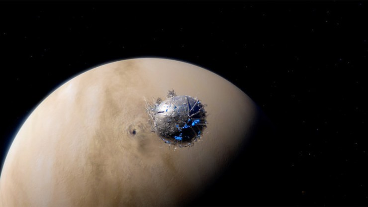 Venus and the Protomolecule on The Expanse
