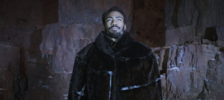 Donald Glover Lando Calrissian spinoff movie Childish Gambino Mindharp of Sharu