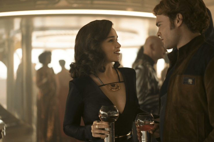 Solo: A Star Wars Story female characters ownership slaves autonomy droids rights Qi'ra Elthree L3