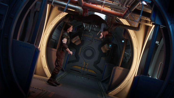 "Blog Post Featured Image - Consequences in Zero G: The Expanse, ""Fallen World"""