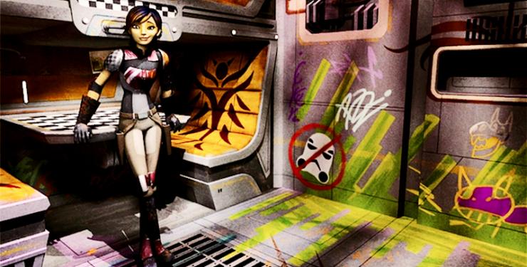 Star Wars: Rebels, Sabine