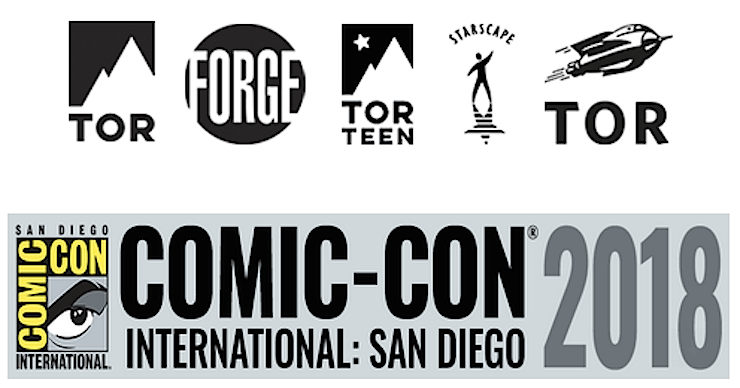 Come Join Tor Books And Tor Com At San Diego Comic Con