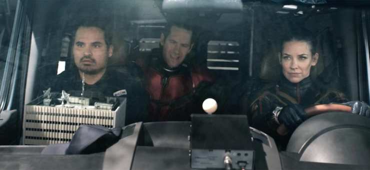 Ant-Man and the Wasp, Scott, Hope, Luis