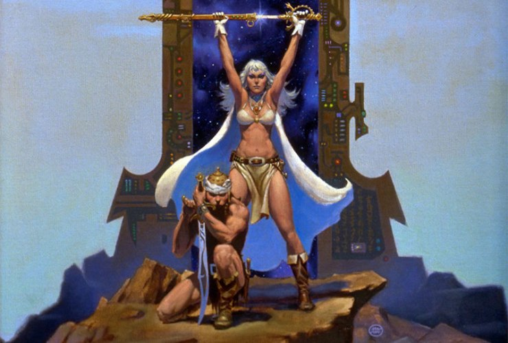 C.J. Cherryh, Gate of Ivrel, cover crop, Michael Whelan