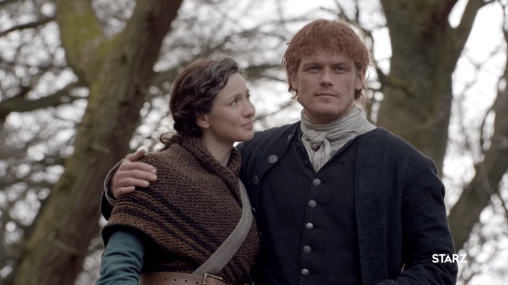 Outlander season 4 trailer New World Drums of Autumn Diana Gabaldon Jamie Claire