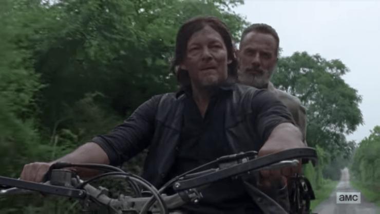 The Walking Dead season 9 trailer SDCC 2018