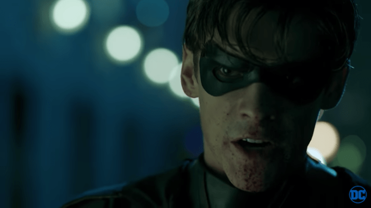 Titans trailer fuck Batman SDCC 2018 Robin DC Universe streaming service