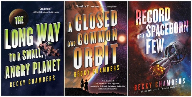 The Wayfarers series by Becky Chambers