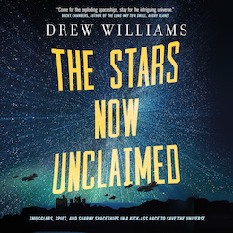 Blog Post Featured Image - The Stars Now Unclaimed Audio Excerpt