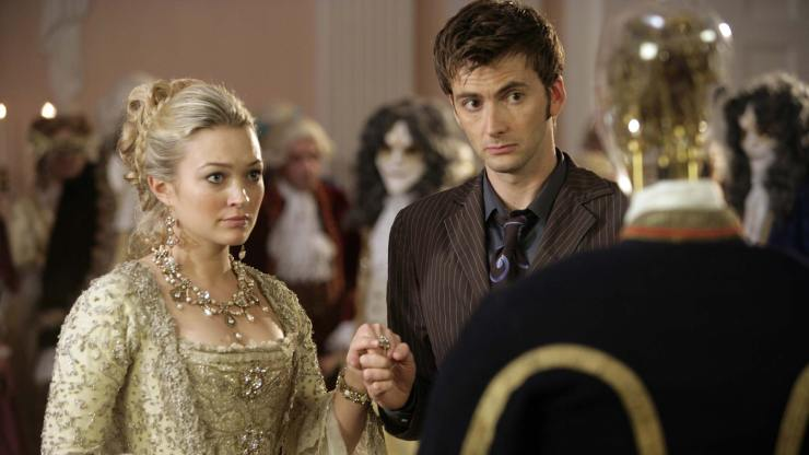 Doctor Who The Girl in the Fireplace Steven Moffat The Time Traveler's Wife Coupling