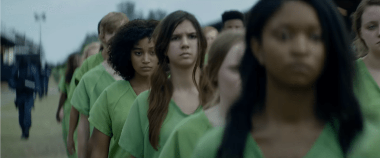 The Darkest Minds movie review YA dystopia adaptation detention camps