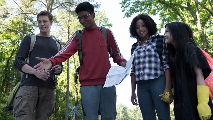 The Darkest Minds movie review YA dystopia adaptation