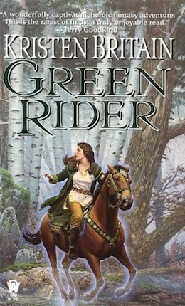Blog Post Featured Image - Writing Fantasy Horses Right: Kristen Britain's Green Rider
