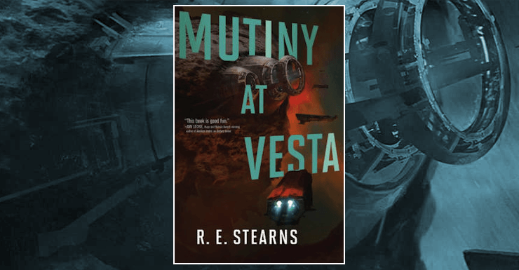Blog Post Featured Image - Corporate Space Piracy: Mutiny at Vesta by R.E. Stearns