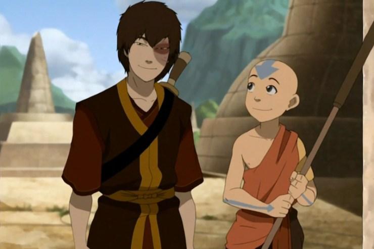 Avatar: The Last Airbender, Aang, Zuko