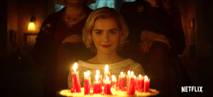 Chilling Adventures of Sabrina teaser Netflix reboot adaptation Roberto Aguirre-Sacasa witch happy birthday