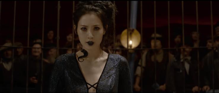 Fantastic Beasts: The Crimes of Grindelwald Nagini Claudia Kim Maledictus J.K. Rowling