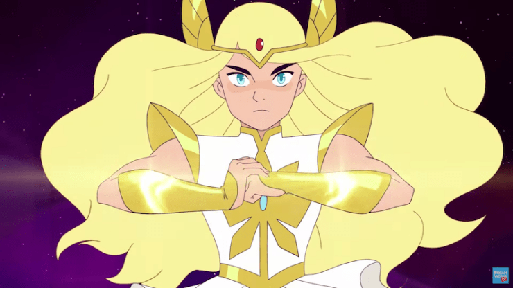 She-Ra and the Princesses of Power teaser trailer Netflix Noelle Stevenson costume by the power of Grayskull