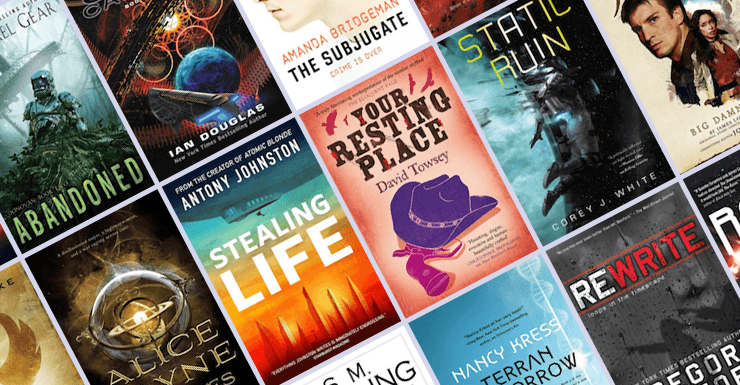 All the New Science Fiction Books Coming Out in November!