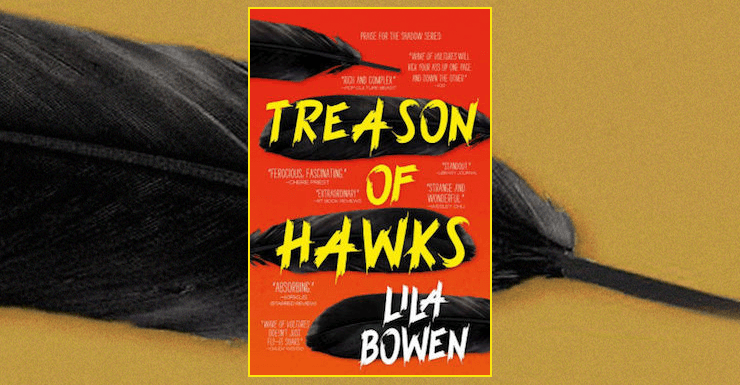 Blog Post Featured Image - Haunted by the Past: Lila Bowen's Treason of Hawks